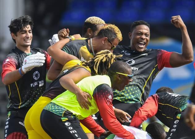 patriots cpl champions 2021 - final v Zouks