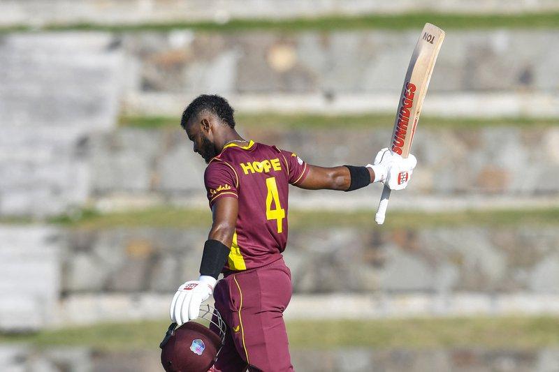 Shai Hope - ODI Century - Sri Lanka