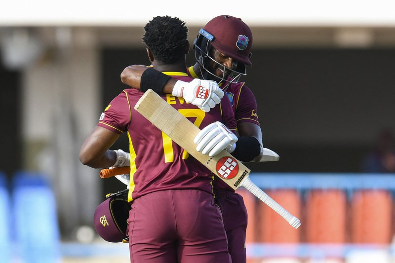 Evin Lewis Shai Hope - 2nd ODI -  Sri Lanka