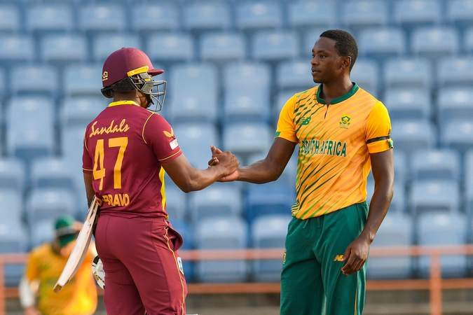 South Africa West Indies 3rd T20I