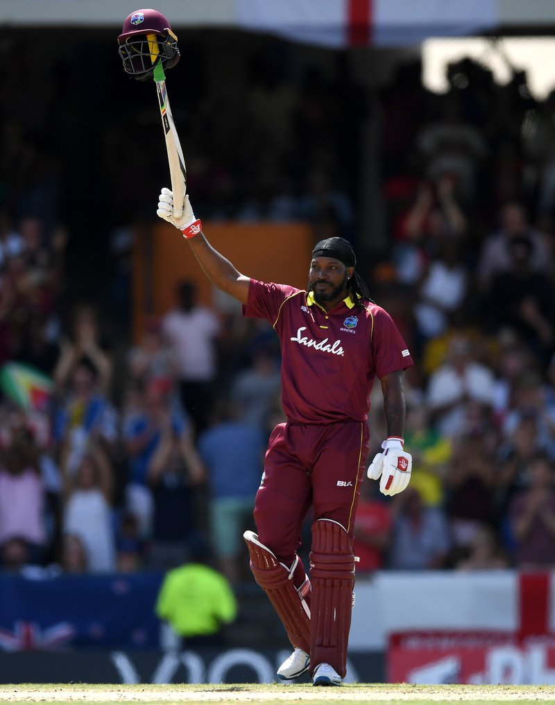 Chris Gayle celebrates century.jpg
