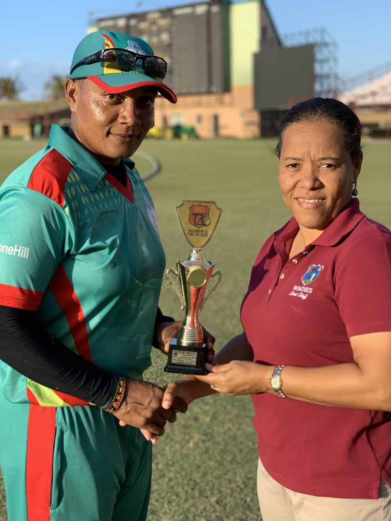 Pearl Etienne, Player of the Match - final round of T20 Blaze.jpg