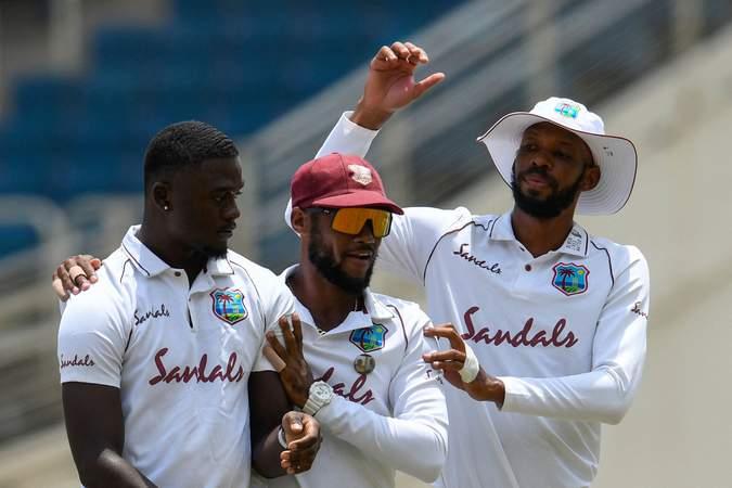 Seales - Brathwaite - Chase - 1st Test v Pakistan