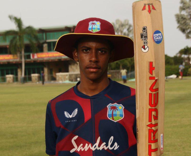 Akeem Auguste - U19 - Warm Up Match