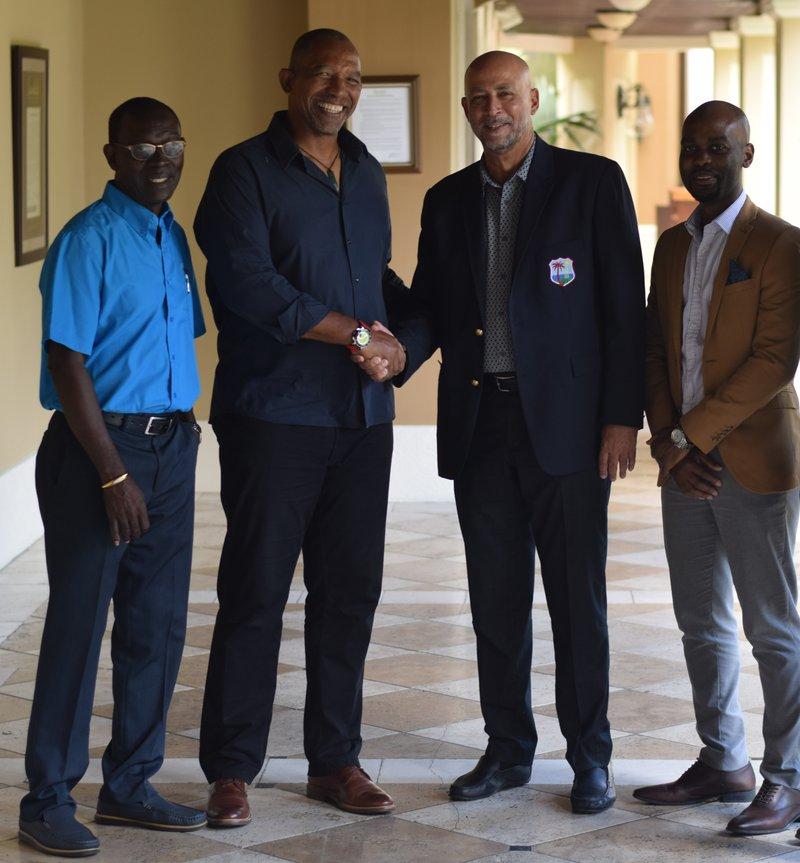 Director Lewis, Phil Simmons President Skerritt, Vice President Shallow.jpg