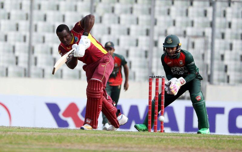 Rovman Powell - Bangladesh ODI 2.JPG