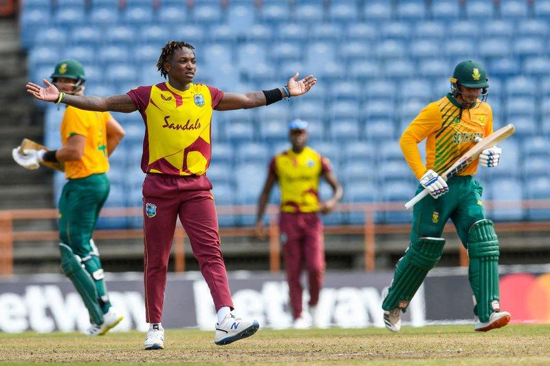 Fidel Edwards - 5th T20I - South Africa