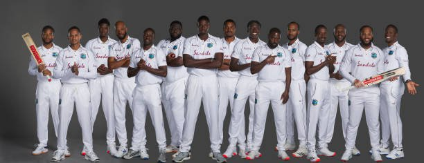 WIvEng Test 2020 Squad