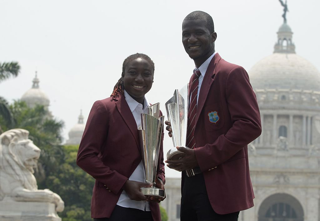 April 3 - Windies men and women captains.jpg