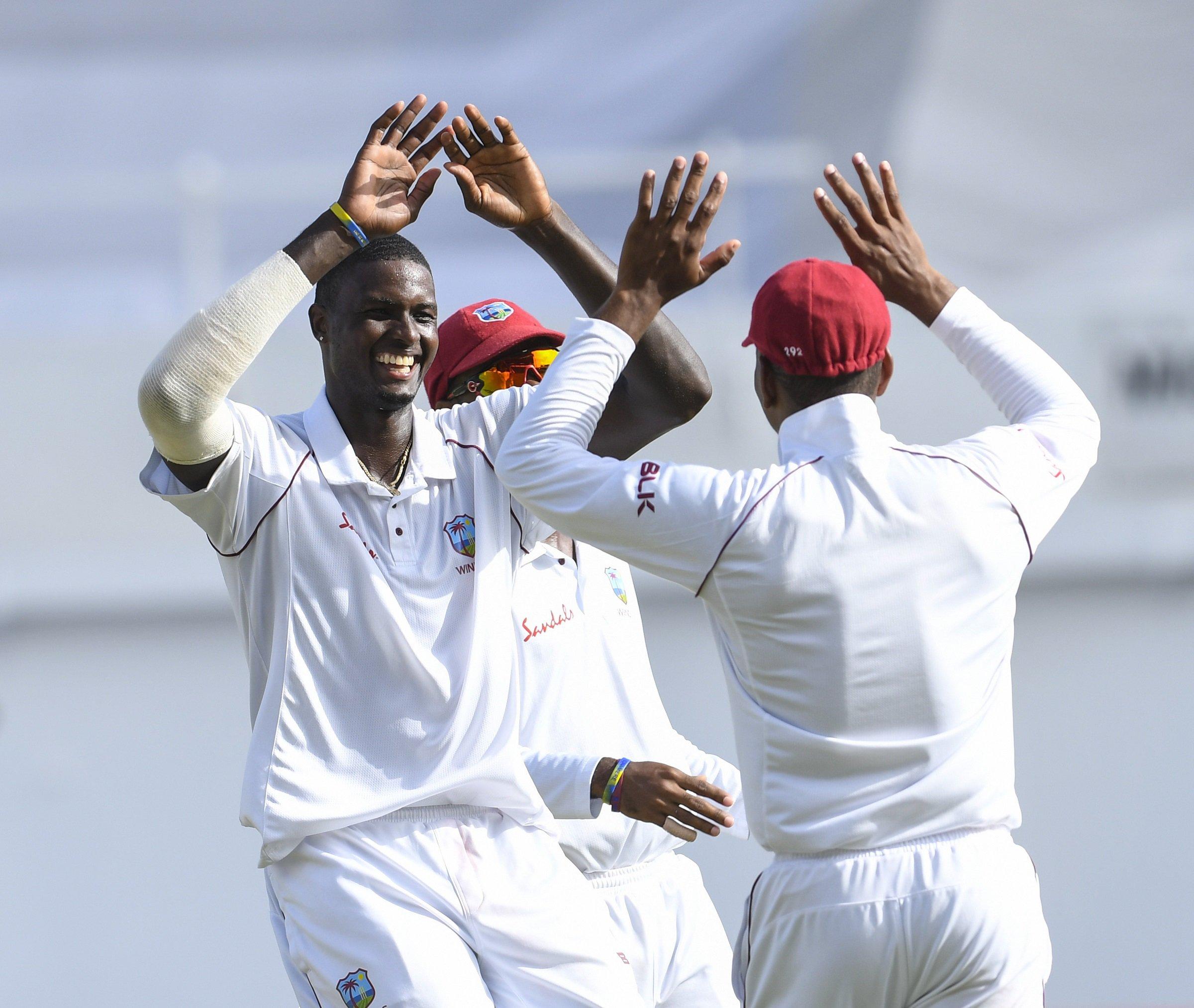Jason Holder Celebrates 5-for on Day 3 of 2nd Test vs Bangladesh 2018