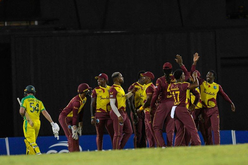 1st T20I v Australia