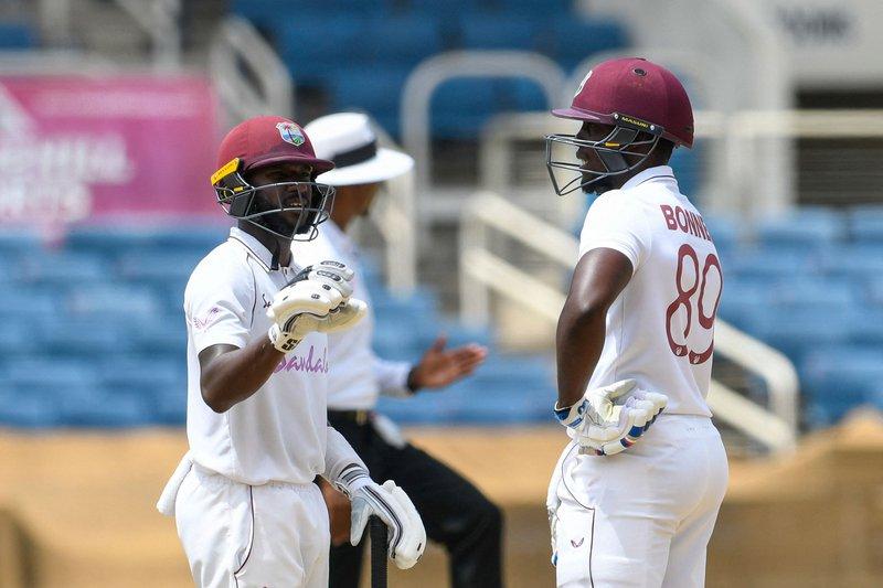 Nkrumah Bonner - Jermaine Blackwood - 2nd Test v Pakistan