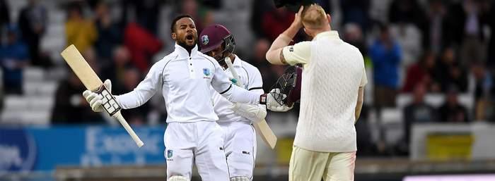 England tour in West Indies - Captain Shai Hope.jpg
