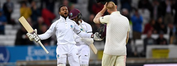 England tour in West Indies - Captain Shai Hope.jpg