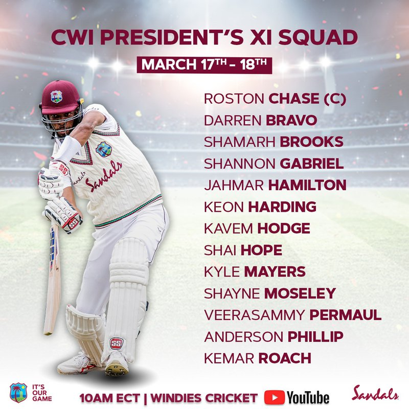 CWI Presidents XI Team v Sri Lanka.jpg