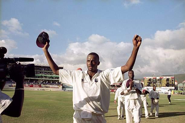 Courtney Walsh - 500th Test Wicket