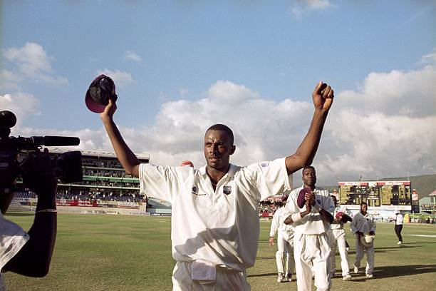 Courtney Walsh - 500th Test Wicket