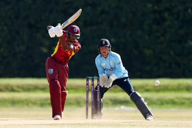 Ackeem auguste - 2nd ODI v England U19s