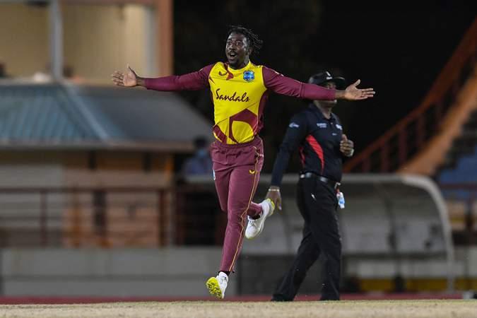 Hayden Walsh Jr. - T20Is v Australia