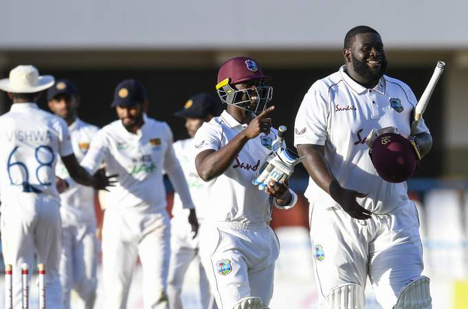 Rahkeem Cornwall Sri Lanka 1st Test