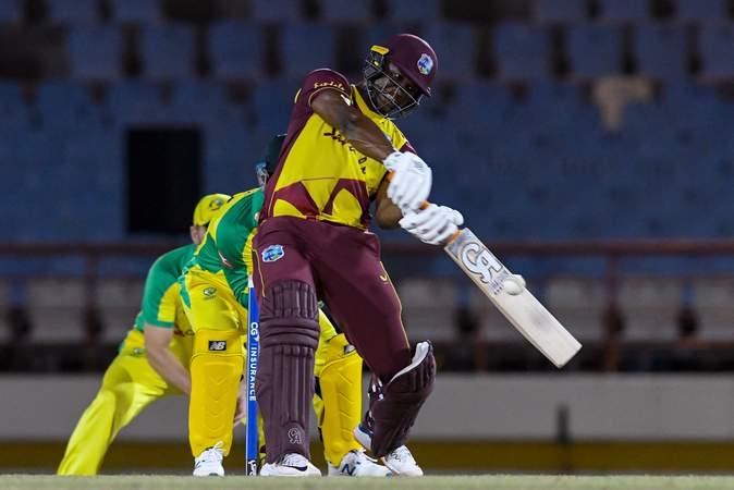 Evin Lewis vs Australia - 5th T20I