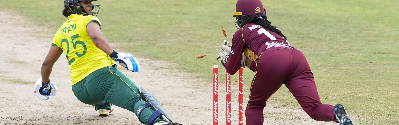 Taylor, Fletcher seal victory for WI Women