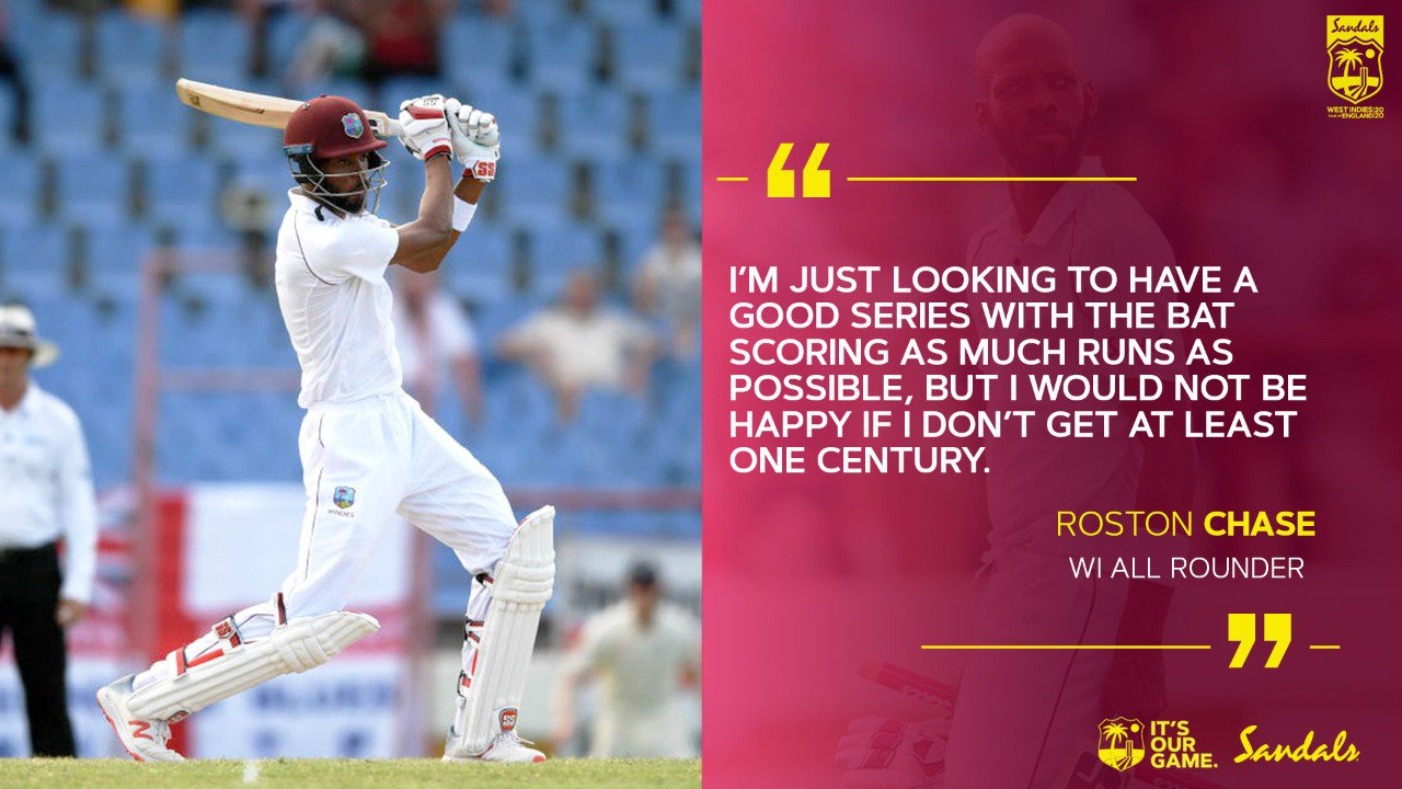 Roston Quote on scoring a Century