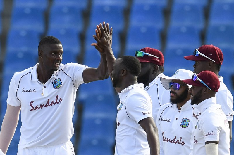 Jason Holder - 1st Test vs Sri Lanka