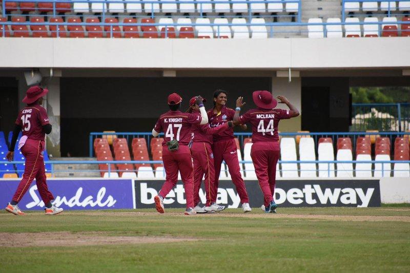 Gajnabi gets a wicket for WIW.jpg