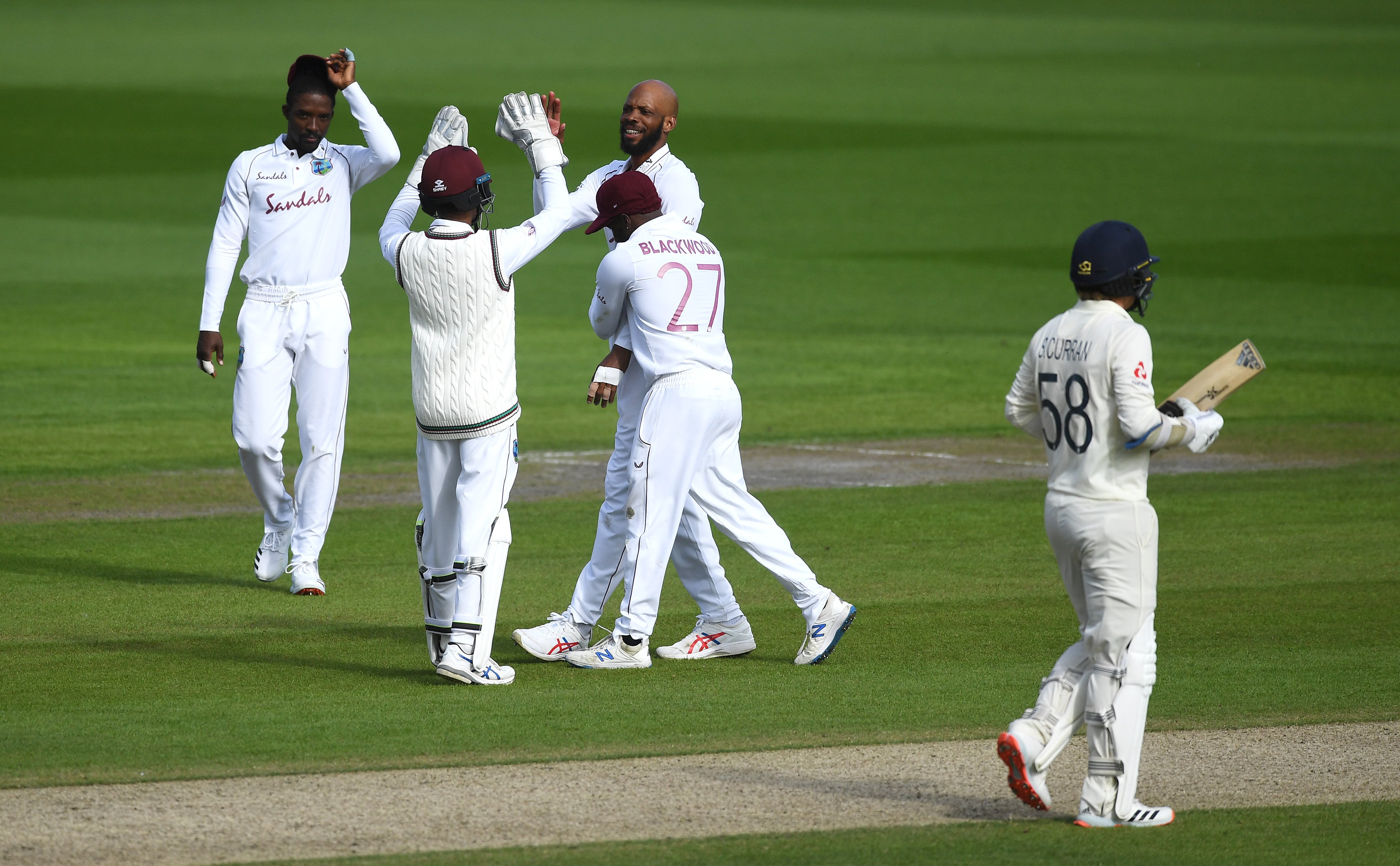 Roston Chase  v England - Test 2 Day 2 - 5 wickets