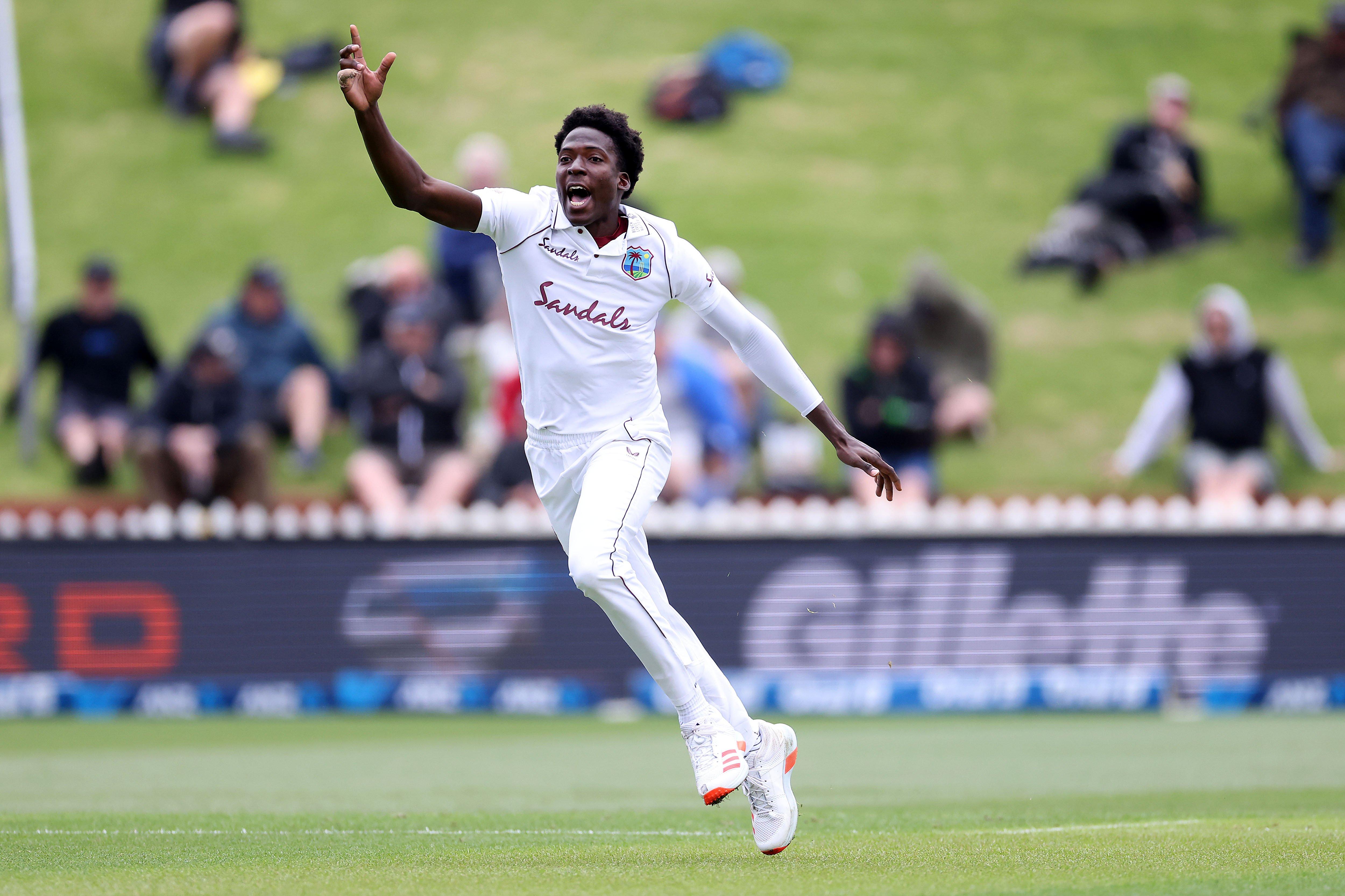Chemar Holder - New Zealand Test