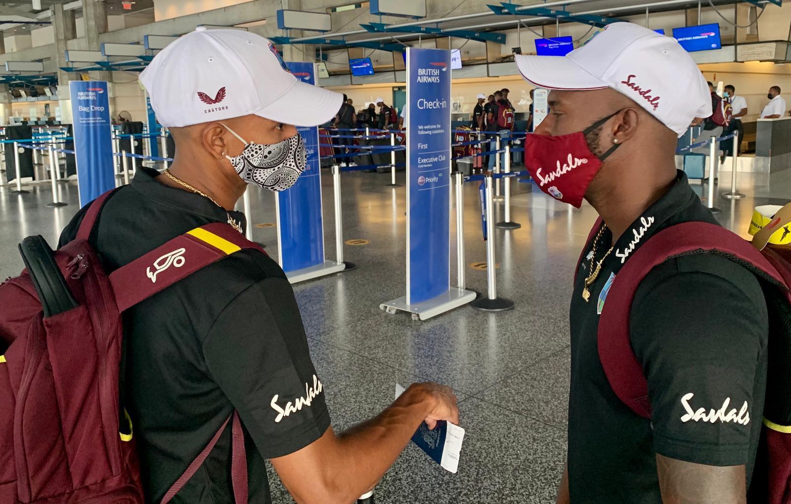 Shane Dowrich Jermaine Blackwood depart Barbados