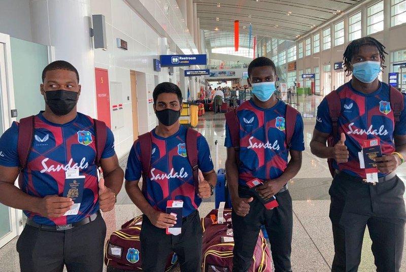 U19s depart for England .jpg