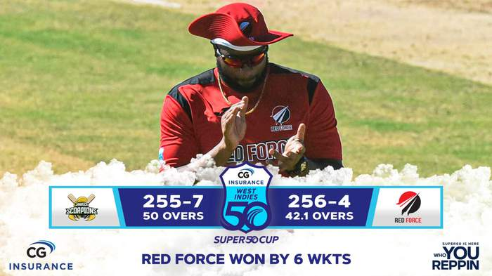 TT Red Force win Semifinal 1