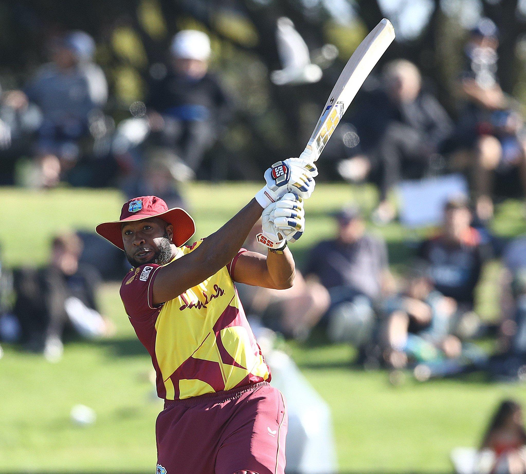 2nd T20I Kieron Pollard - New Zealand