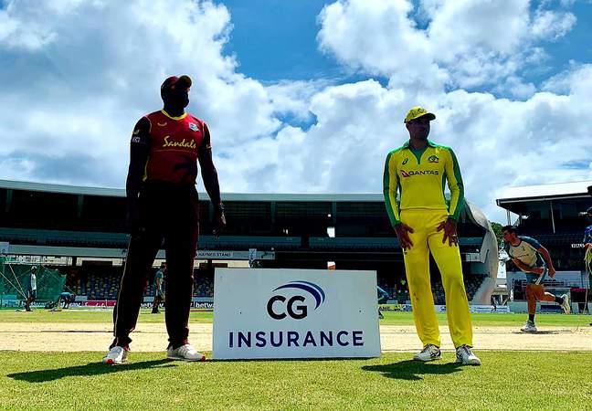 West Indies v Australia T20I - Toss