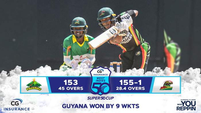 Windwards vs Guyana Match 15