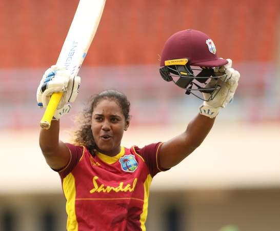 Hayley Matthews - century - 2nd ODI Pakistan