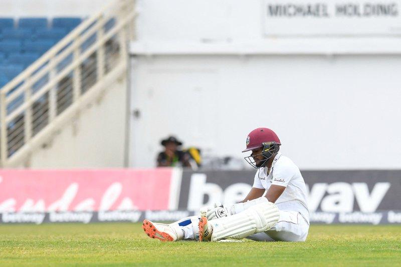 Kraigg Brathwaite - 1st Test v Pakistan - 97 run out
