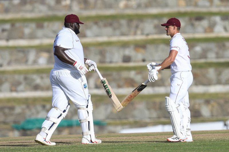 Rahkeem Cornwall Joshua Da Silva - Sri Lanka 1st Test