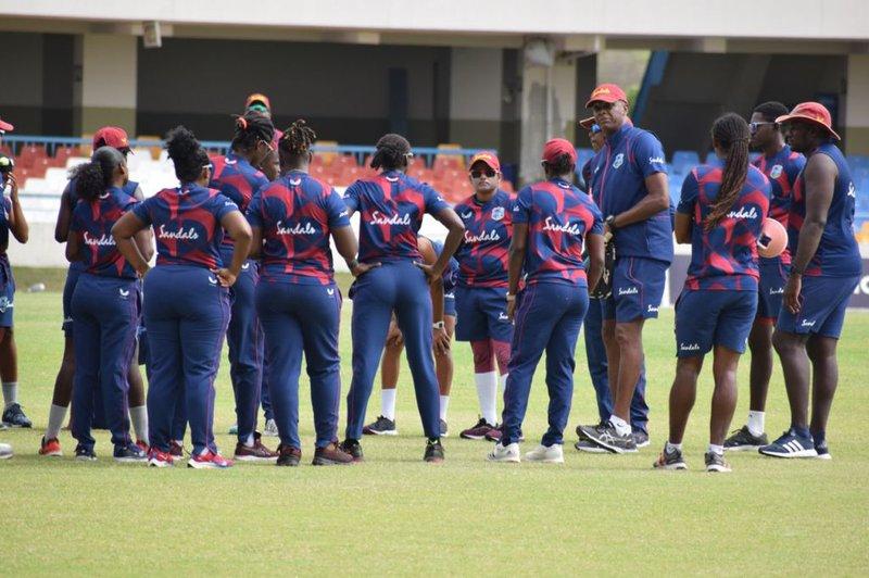 West Indies Women Training  - Pakistan series
