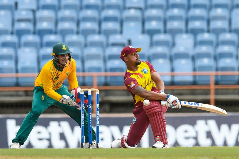 Lendl Simmons - T20I - South Africa
