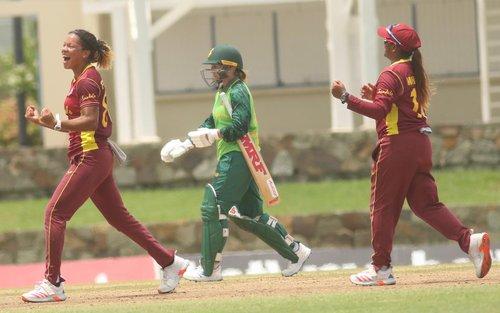 Cherry Ann Fraser - 4th ODI v South Africa Women
