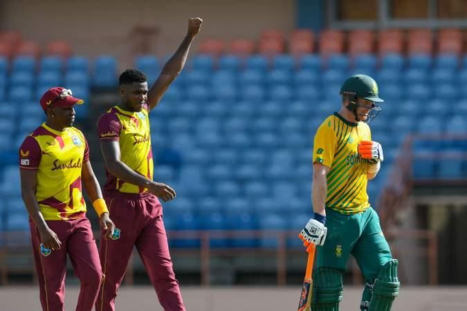 Obed McCoy - 2nd T20I - South Africa