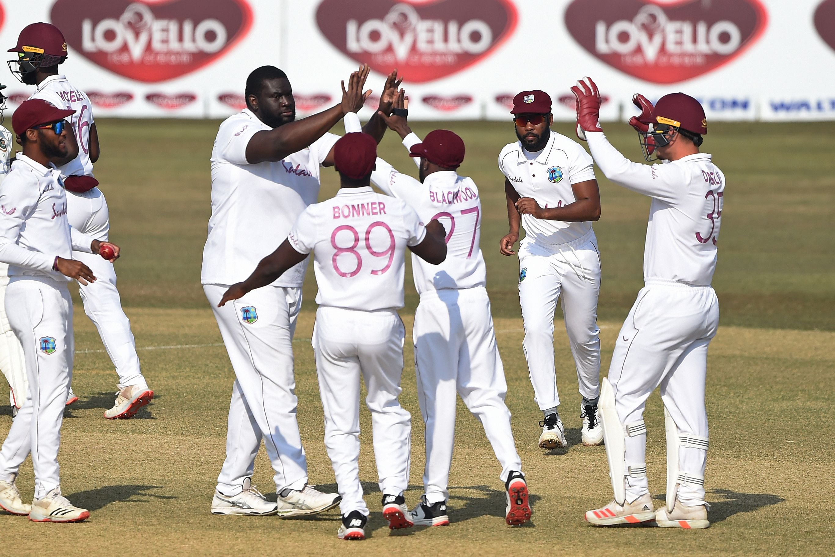 Cornwall - 1st  Test Day 3 - Bangladesh