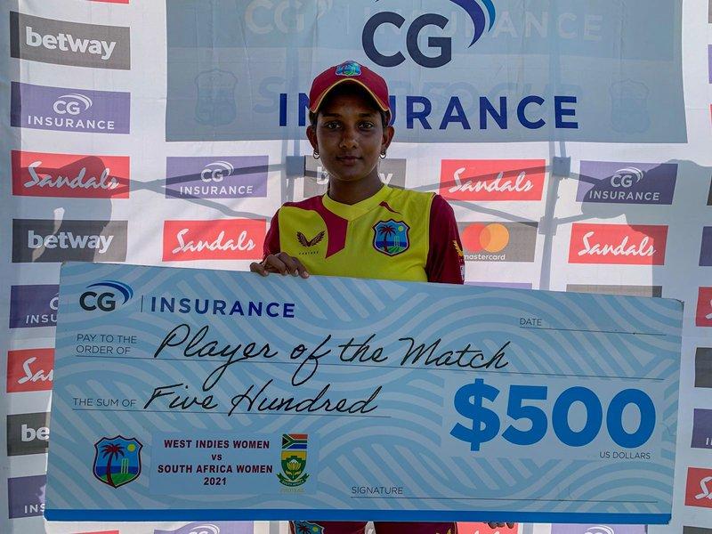 Karishma Ramharack - 3rd T20I v South Africa Women.jpg
