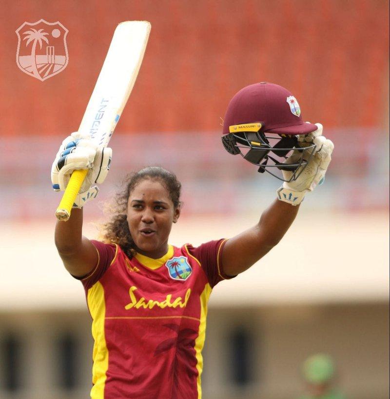 Hayley Matthew - Century - 2nd ODI Pakistan