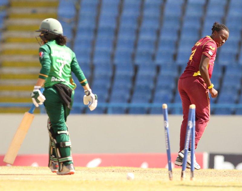 Shakera Selman - 4th ODI - Pakistan Women