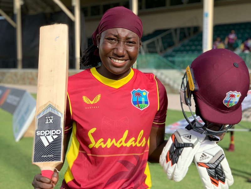 Stafanie Taylor - 100 - Century vs Pakistan Women - 1st ODI