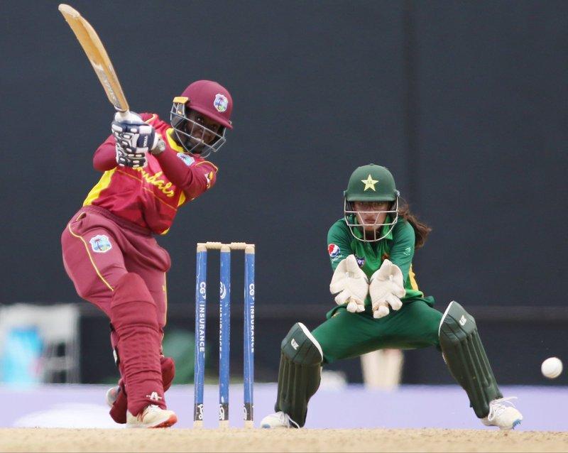 Kyshona Knight - 4th ODI - Pakistan Women